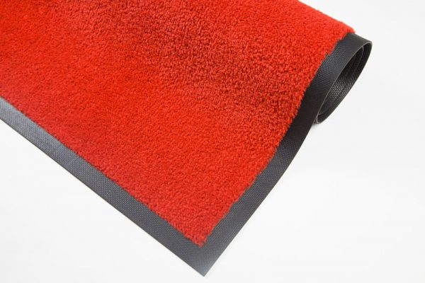 Nylonmatte-klar-rød-foto