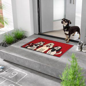 Hundematte_3hunder_dyremotiv-foto