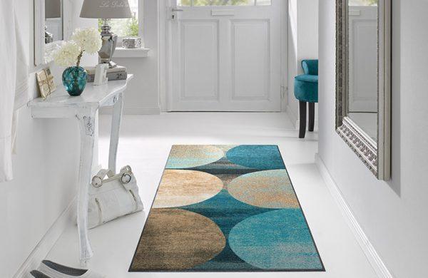 Stilig gulvmatte farger-foto