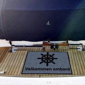 Båtmatte -foto