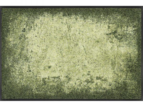 Grønn gulvmatte-foto