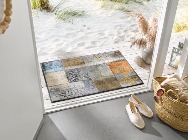 Stilig design dørmatte-foto